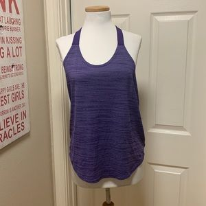Nike 'T' Back Tank Top: Purple, Medium